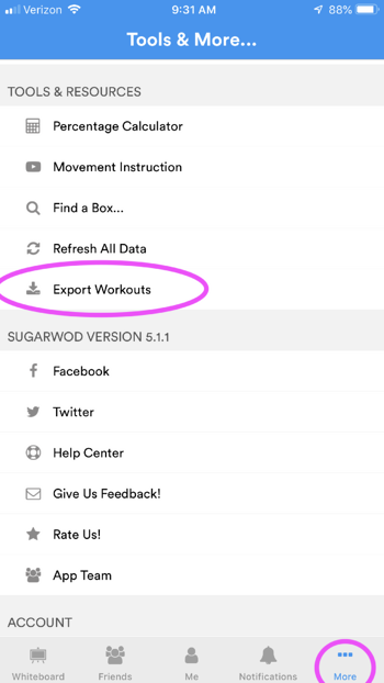 Exporting Workouts_SW_1